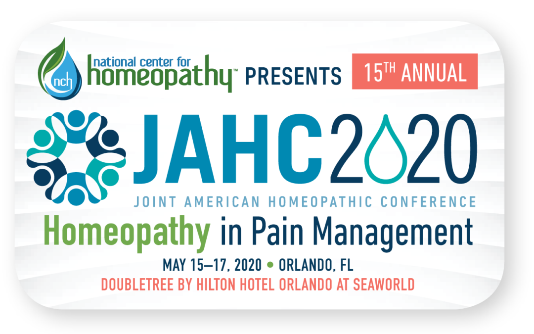 2020 Joint American Homeopathic Conference