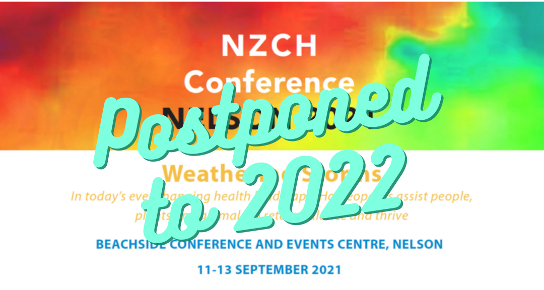 NZCH 2021 Conference in Nelson